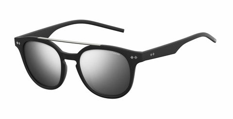 Polaroid - Pld 1023 S Matte Black Sunglasses / Gray Silver Mirror Polarized Lenses