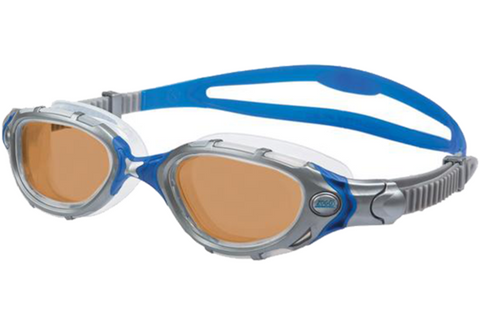 Zoggs - Predator Flex Reactor Ultra Blue Swim Goggles