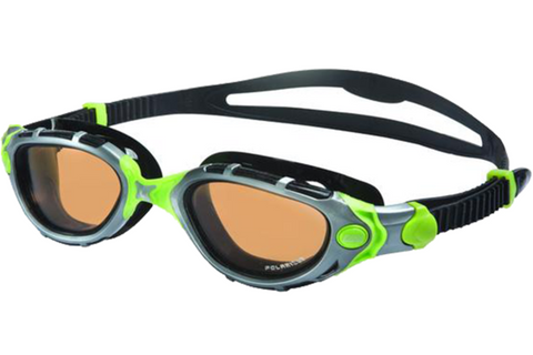 Zoggs Predator Flex Reactor Ultra Green Swim Goggles