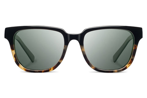 Shwood - Prescott Acetate Black Olive / Grey Sunglasses