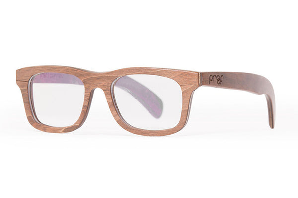 Proof - Capitol Wood Stained Rx Glasses
