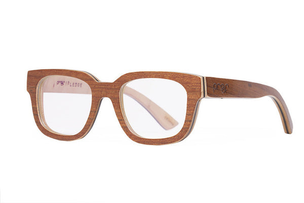 Proof - Pledge Wood African Teak Rx Glasses