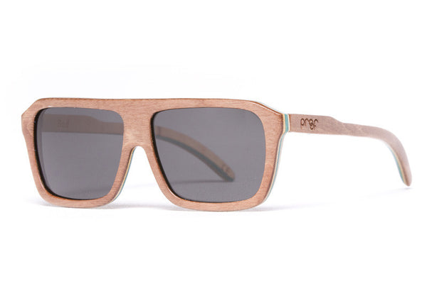 Proof - Bud Skate Brown Sunglasses, Polarized Lenses