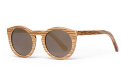 Proof Hayburn Lacewood Sunglasses, Polarized Gold Lens