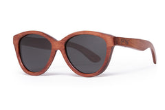 Proof McCall Mahogany Sunglasses, Grey Lenses