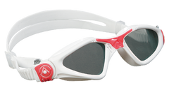 Aqua Sphere - Kayenne Ladies White Coral Accents Swim Goggles / Smoke Lenses