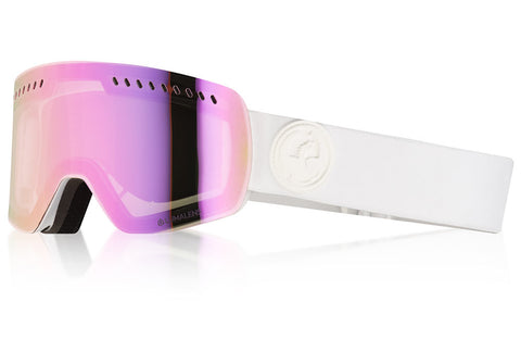 Dragon - NFXS Whiteout Snow Goggles / Lumalens Pink Ion Lenses