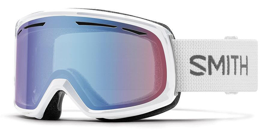 Smith - Drift White Snow Goggles / Blue Sensor Mirror Lenses