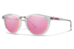 Smith - Questa Crystal Sunglasses, Pink Mirror Lenses