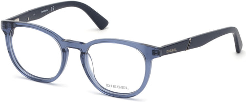 Diesel - DL5295 Shiny Blue Eyeglasses / Demo Lenses