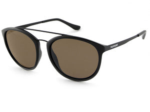 Peppers - Wicket Matte Black Sunglasses / Brown Lenses