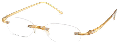 Scojo - Gels Gold Reader Eyeglasses / +1.50 Lenses