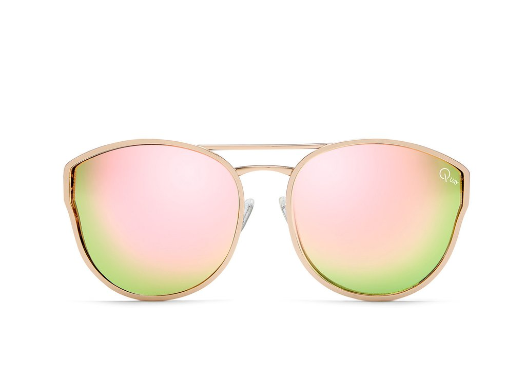 6a3222711b Quay Cherry Bomb Rose Gold   Pink Sunglasses – New York Glass