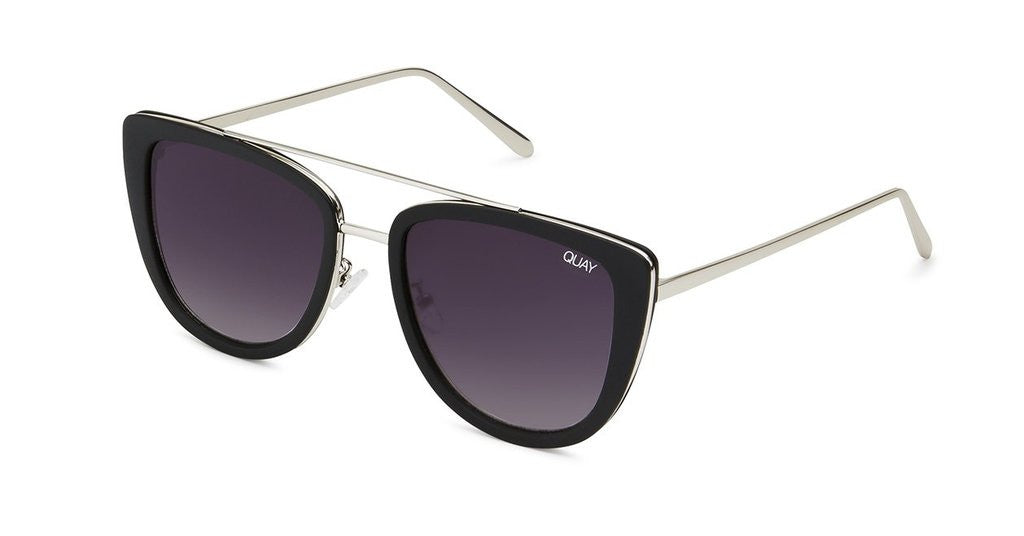 Quay French Kiss Black Sunglasses – New York Glass c660acae6f