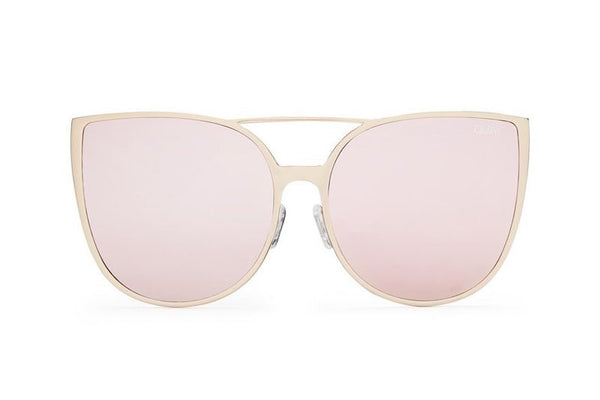 Quay Sorority Princess Gold / Pink Sunglasses