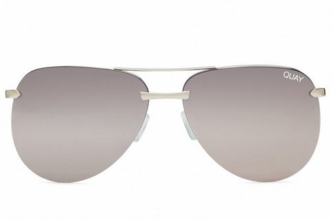 Quay The Playa Silver Sunglasses