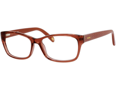 Fossil - 6022  Red  Eyeglasses / Demo  Lenses