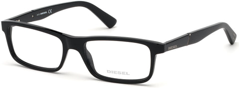 Diesel - DL5292 Shiny Black Eyeglasses / Demo Lenses