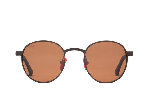 Proof - Sundance Aluminum Copper Sunglasses / Brown Polarized Lenses