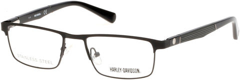 Harley-Davidson - HD0130T Matte Black Eyeglasses / Demo Lenses