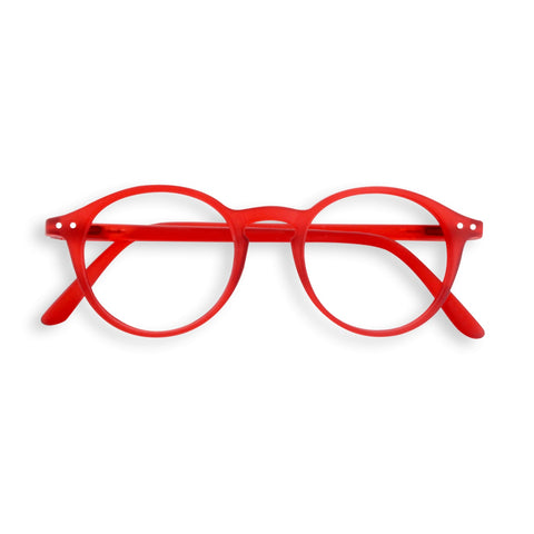 Izipizi - #D Red Crystal Eyeglasses / Screen Blue Light Clear Lenses