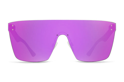 VonZipper - Alt Donmega Tortoise Satin Sunglasses / Pink Chrome Lenses
