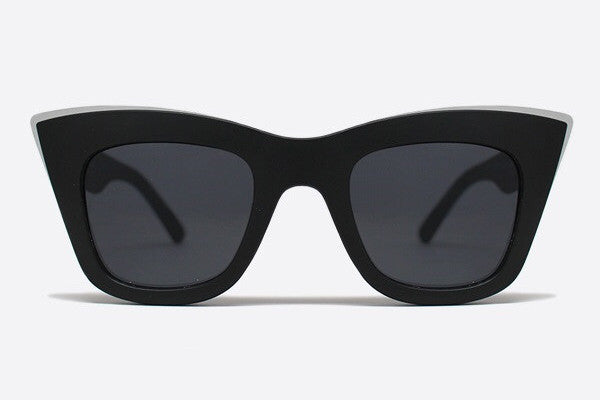 Quay Love Child Black Sunglasses, Black Lenses