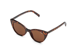 Quay Aphrodite Tortoise Sunglasses / Brown Lenses