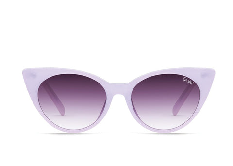 Quay Aphrodite Violet Sunglasses / Purple Fade Lenses