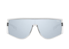 Quay Cosmic Grey Sunglasses / Smoke Flash Mirror Lenses