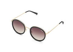 Quay Firefly Black Sunglasses / Brown Lenses