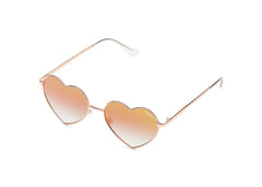 Quay Heartbreaker Rose Sunglasses / Copper Fade Lenses