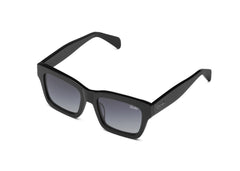 Quay In Control Black Sunglasses / Smoke Lenses