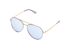 Quay Single Blue Sunglasses / Violet Lenses