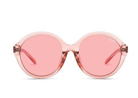 Quay x Benefit #QUAYXBENEFIT Tinted Love Pink Sunglasses / Pink Lenses