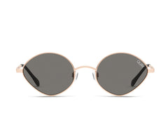 Quay Wild Night Rose Sunglasses / Smoke Lenses