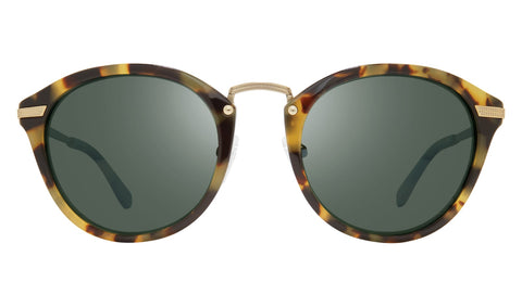 Revo - Quinn 51mm Tortoise Sunglasses / Smoky Green Lenses