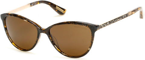 Marciano - GM0755 Dark Brown Sunglasses / Brown Lenses