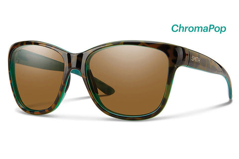 Smith - Ramona Tort Marine Sunglasses, ChromaPop Polarized Brown Lenses