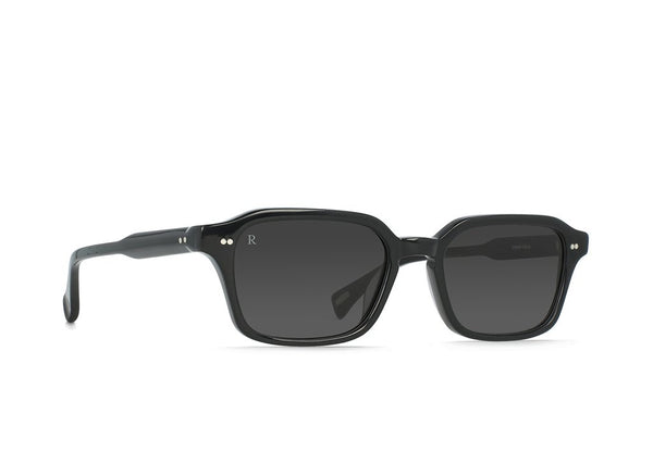 Raen - Boyd Crystal Black Sunglasses / Dark Smoke Lenses
