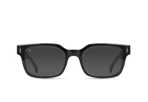 Raen - Friar Cystal Black Sunglasses / Dark Smoke Lenses