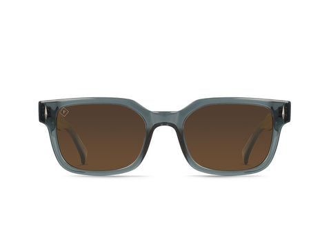 Raen - Friar Slate Crystal Sunglasses / Brown Polarized Lenses