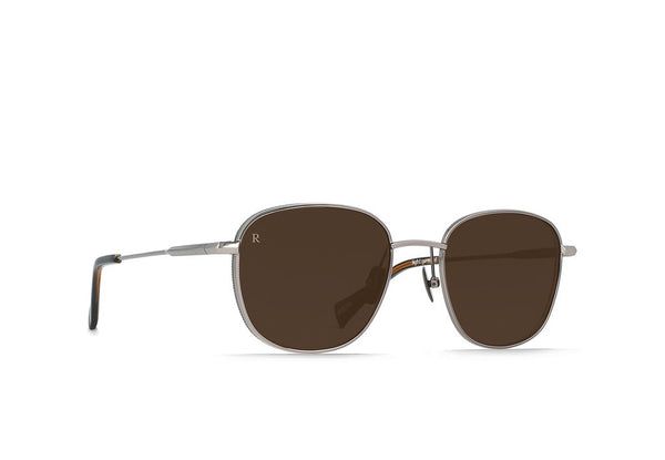 Raen - Morrow Ridgeline Black Tan Sunglasses / Brown Lenses