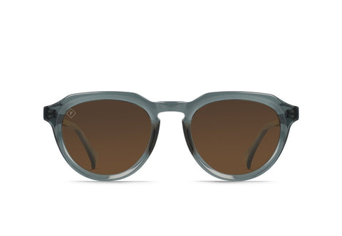 Raen - Sage Slate Crystal Sunglasses / Brown Polarized Lenses