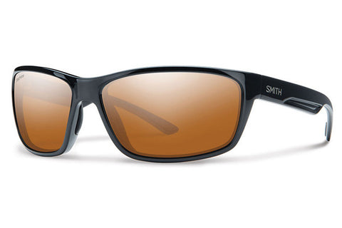 Smith - Redmond Black Sunglasses, Techlite Polarchromic Copper Mirror Lenses