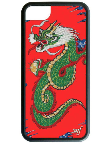 Wildflower - Red Dragon iPhone XS/X Case