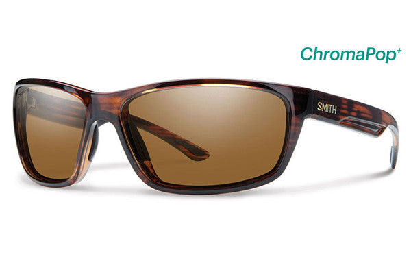 Smith Redmond Tortoise Sunglasses, ChromaPop+ Polarized Brown Lenses