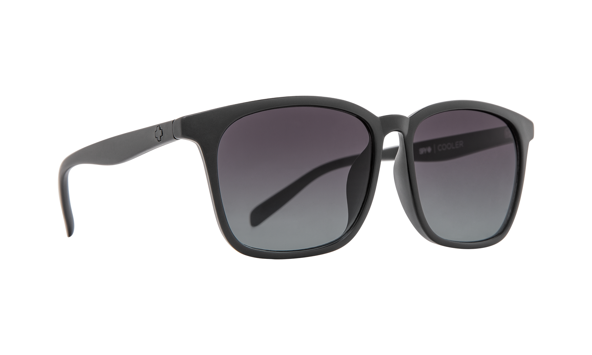 Spy - Cooler 55mm Matte Black Sunglasses / Ocean Fade Lenses