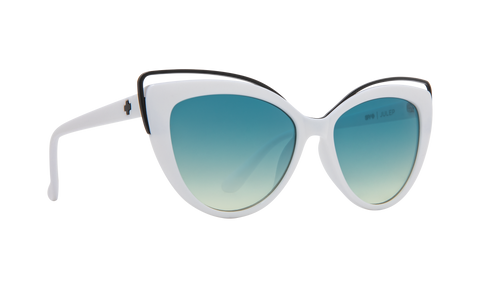 Vera Wang - Miki 53mm Dove Sunglasses / White Smoke Lenses