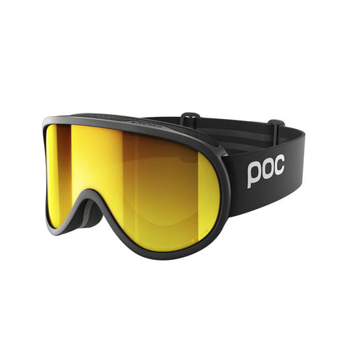 POC - Retina Clarity Uranium Black Snow Goggles / Spektris Orange Lenses